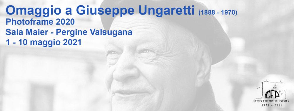Photoframe 2020(1) – Omaggio a Giuseppe Ungaretti